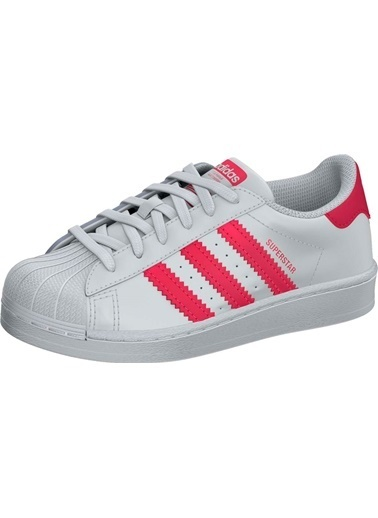 adidas Unisex Superstar Sneakers FW0771 Beyaz